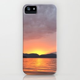 somes sound sunset iPhone Case