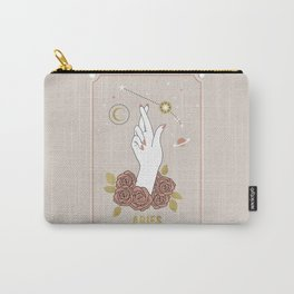 Aries Zodiac Series Carry-All Pouch