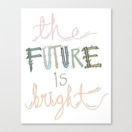 The future is... Canvas Print