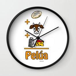 Pelúa Wall Clock