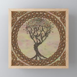 Celtic Tree of Life II Framed Mini Art Print
