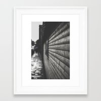 wooden Framed Art Prints featuring wooden by Mylo Photography
