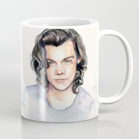 coconutwishes Mugs featuring Harry Watercolors II by Coconut Wishes