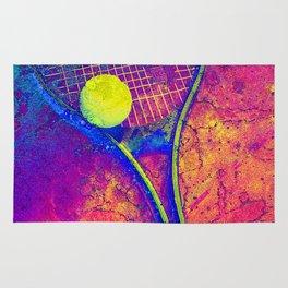 Tennis art Rug