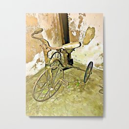 Once Upon a Time - Toy Trike Metal Print