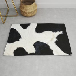 Cow texture ,animal print Rug