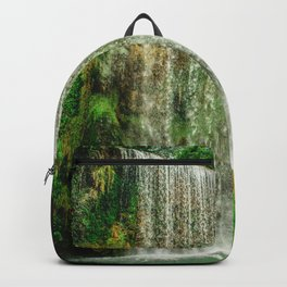 Green Waterfalls from Spain Backpack