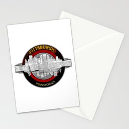 Pittsburgh Pennsylvania Graphic Design Stationery Cards