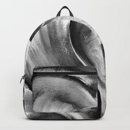 Double Heart beat chrome Backpack