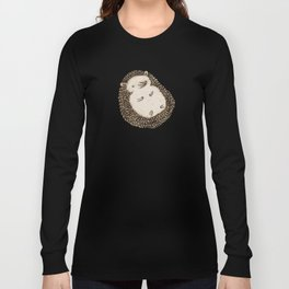 Plump Hedgehog Long Sleeve T-shirt