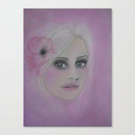 Pink poppy! Canvas Print