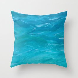 Where Feet May Fail Throw Pillow