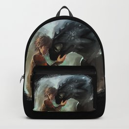 hiccup & toothless Backpack
