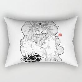 The First Shisa Rectangular Pillow