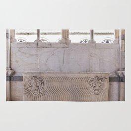Campo santos coffin Pisa Italy Rug