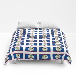 flag of belize 2 -Belice, Belizean,Belize City,beliceno,Belmopan Comforters