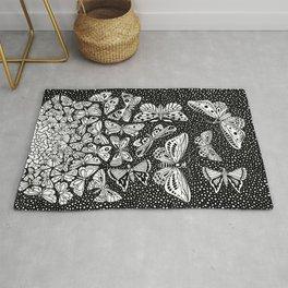 Escher - Butterflies Tessellation Rug