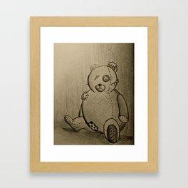 Broken Toy Framed Art Print