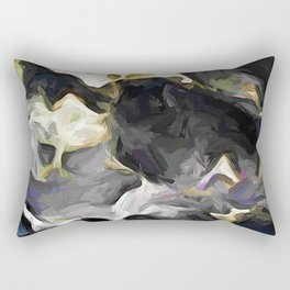 Storm of Turmoil with Dark Moody Clouds Rectangular Pillow
