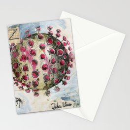 Z is for Zika Stationery Cards