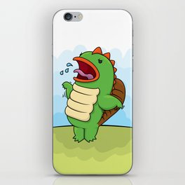 Humphrey the Deranged Platypus Monster iPhone Skin
