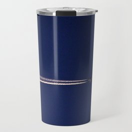 Jet and Contrail Travel Mug