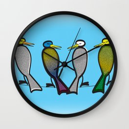 Tweetable Moments Wall Clock