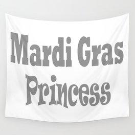 Mardi Gras Princess Wall Tapestry