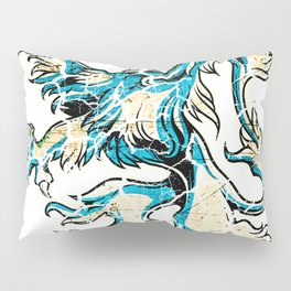 Lion Knight King Warrior Perfect Gift Pillow Sham