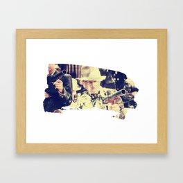 Bugsy Malone Eats A Gun Full Of Pie Framed Art Print