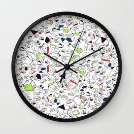 rocked Wall Clock