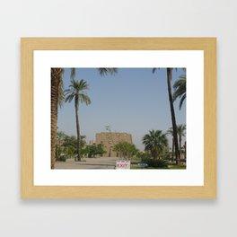 Temple of Karnak at Egypt, no. 2 Framed Art Print