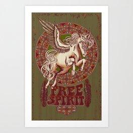 Pegasus Free Spirit Art Print