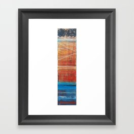 The Lines by Which You Judge Me Framed Art Print