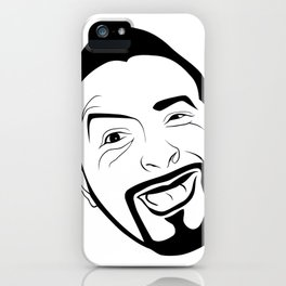 The amused Koksmann iPhone Case