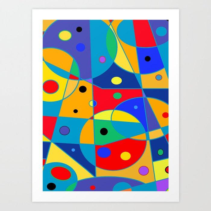 Abstract #69 Art Print