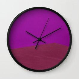Abstract corner Wall Clock
