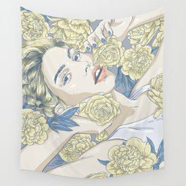 beauty in simple things Wall Tapestry