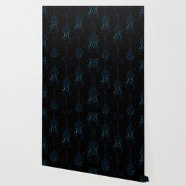 Creative violin silhouette Wallpaper
