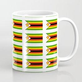 Flag of zimbabwe -Zimbabwe,Zimbabwean,Zimbo,harare,Bulawayo Coffee Mug