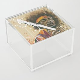 Jimi Hendrix Acrylic Box