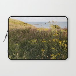 A Lone Reed at Mulberry Harbour Laptop Sleeve