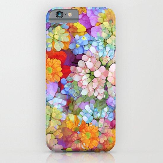 Rainbow Flower Shower iPhone & iPod Case