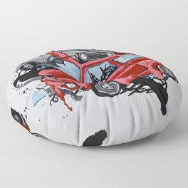 Carsharing Floor Pillow