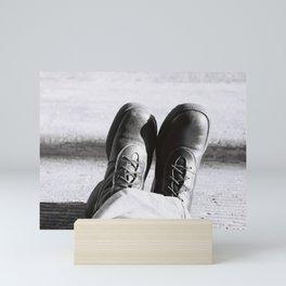 my boots Mini Art Print
