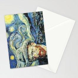Starry Night Art Van Gogh Stationery Cards