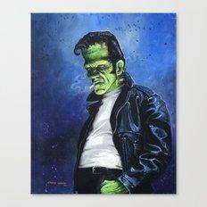 Rebel Frankenstein Canvas Print