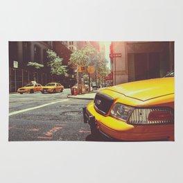 NYC Taxi Cab Rug