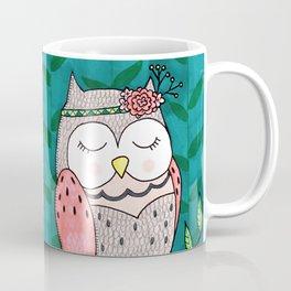 Spring Owl Coffee Mug