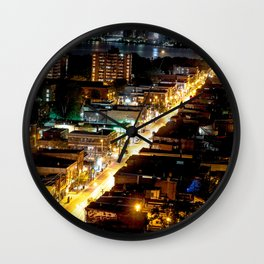 Queen West Streets Wall Clock